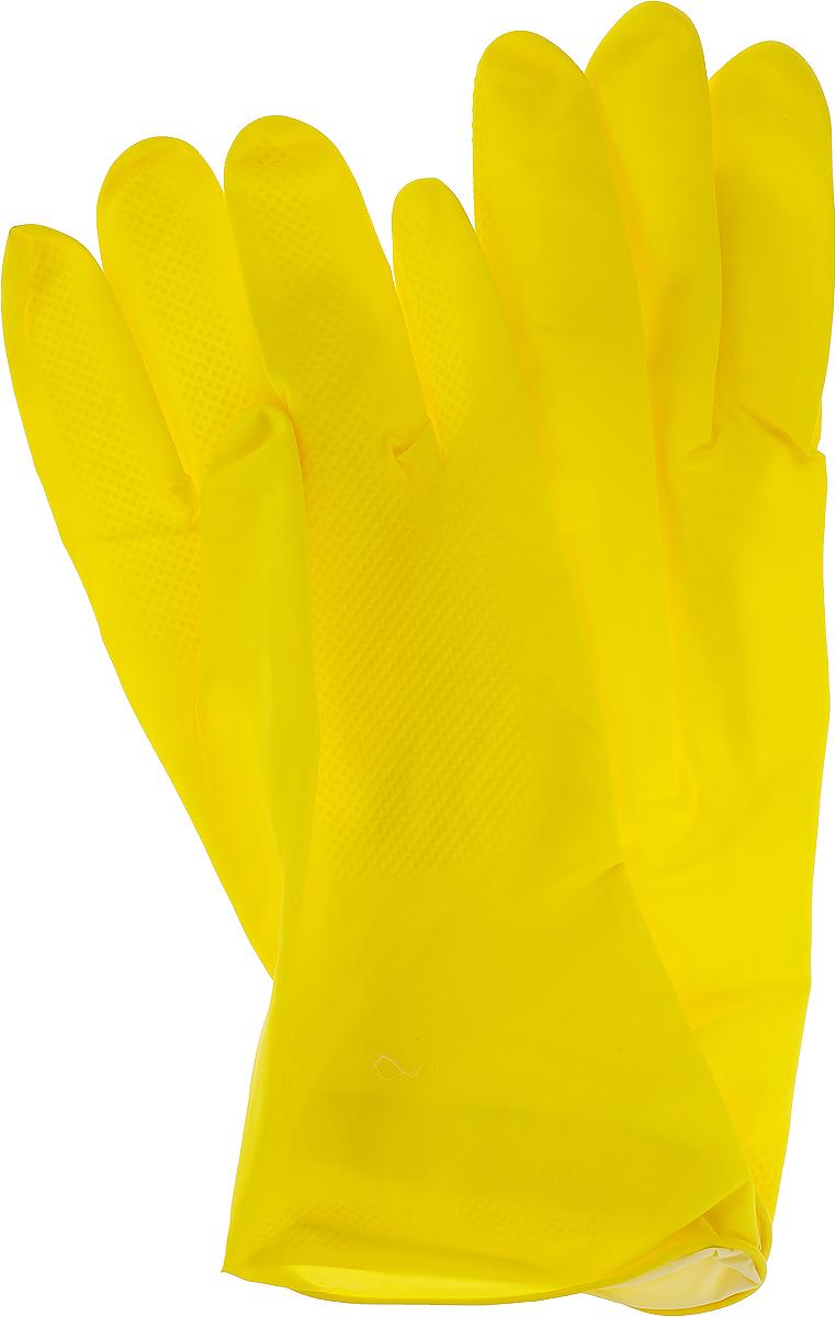 """Перчатки хозяйственные """"Aviora"""", резиновые, размер 9 (L)"""