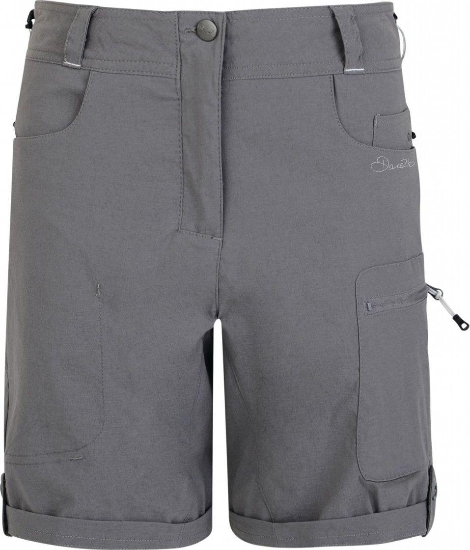 "Велошорты женские Dare 2b ""Melodic Short"", цвет: серый. DWJ336-65G. Размер 10 (42/44)"