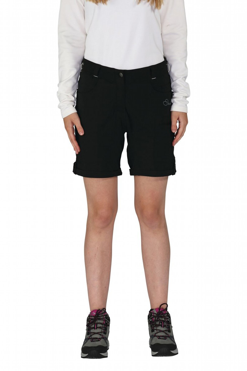 Велошорты женские Dare 2b Melodic Short, цвет: черный. DWJ336-800. Размер 10 (42/44) цена