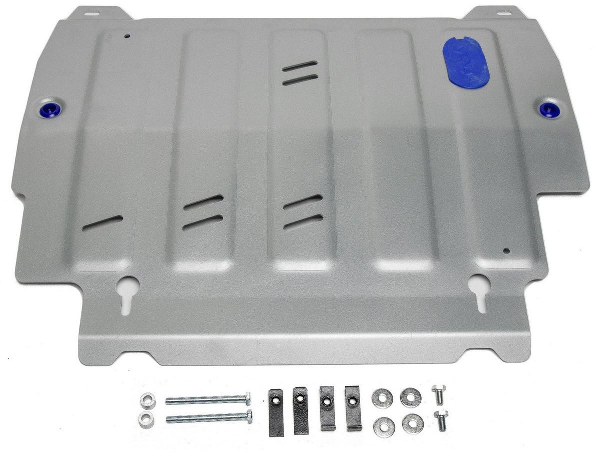 Защита картера и КПП Rival для Infiniti JX35 2012-2013/QX60 2013-2016 2016-н.в./Nissan Murano 2016-н.в./Pathfinder 2014-2017, алюминий 4 мм, с крепежом. 333.2415.2 2013 2014 infiniti jx35 jx qx60 alloy engine skid plate engine protection plate