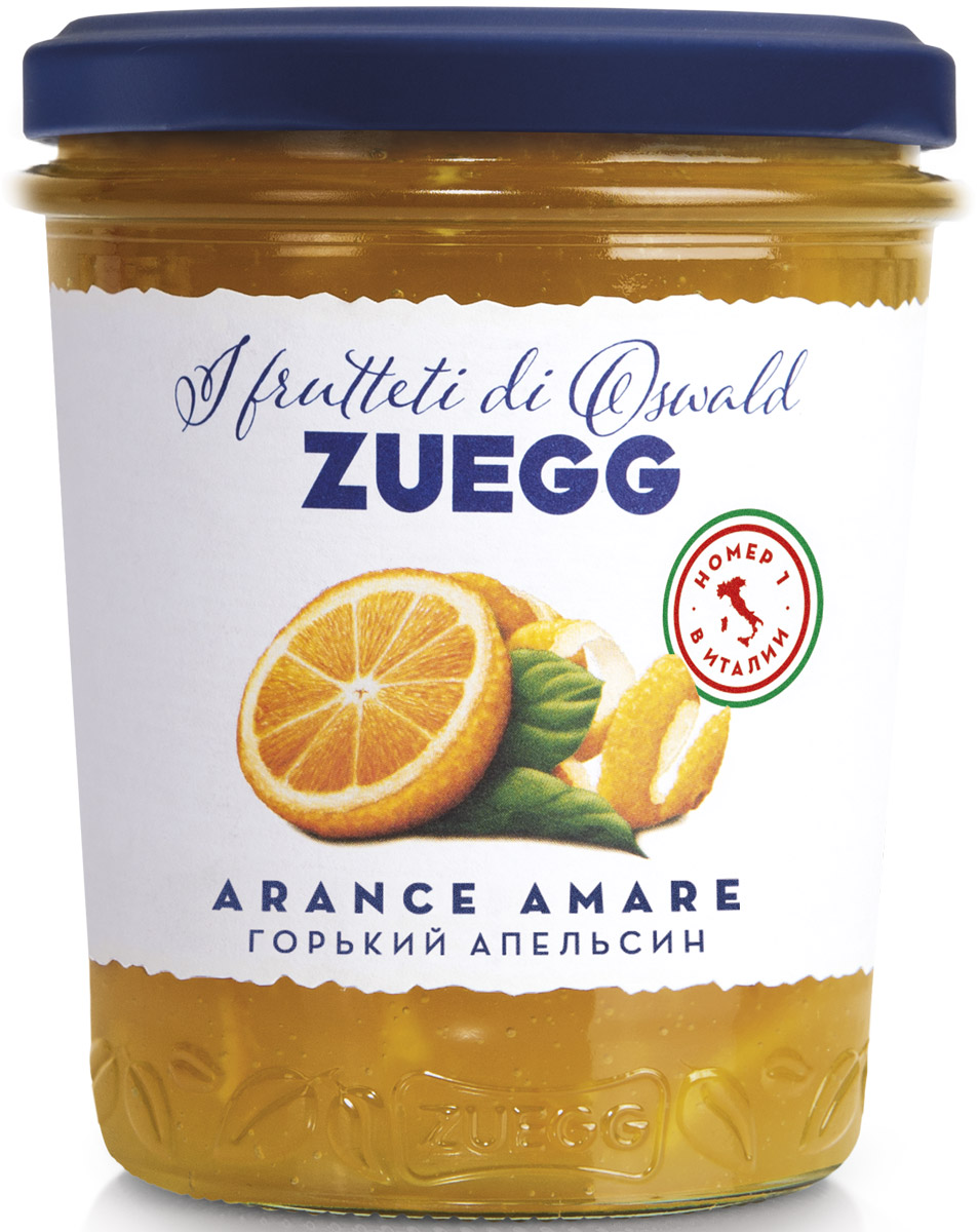 Zuegg Апельсин горький фруктовый десерт 330 г