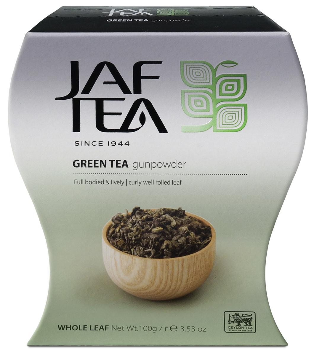 Jaf Tea GunPowder чай зеленый листовой, 100 г teabreez волшебная ночь чай листовой 100 г