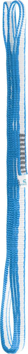 Петля стационная VENTO Лайт, стропа Dyneema 10 мм, цвет: голубой, длина 150 см закладка для альпинизма vento сувенирная