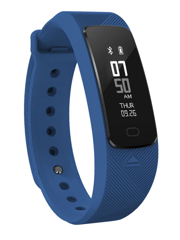 Фитнес-браслет SMA B2, темно-синий фитнес браслет sma b2 черный