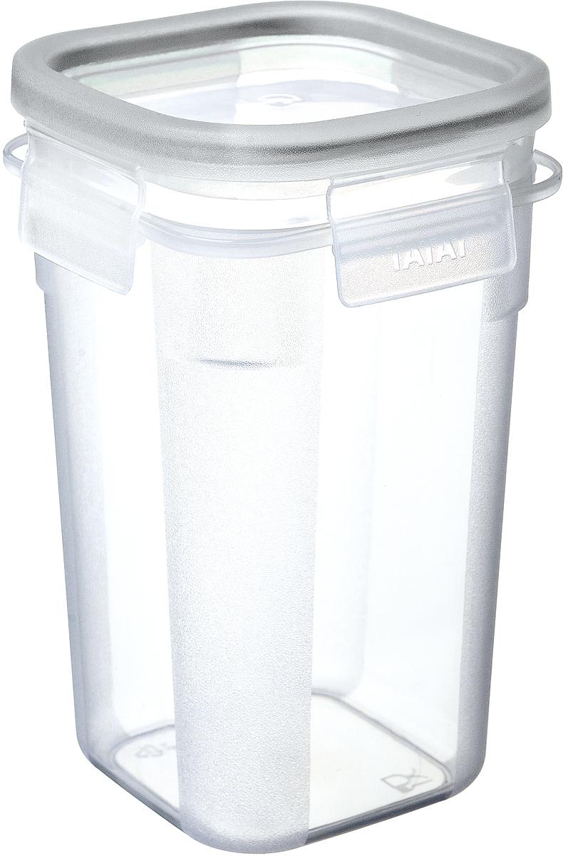 Контейнер пищевой TATAY, цвет в ассортименте, 1 л контейнер пищевой tatay цвет оранжевый круг диаметр 26 см
