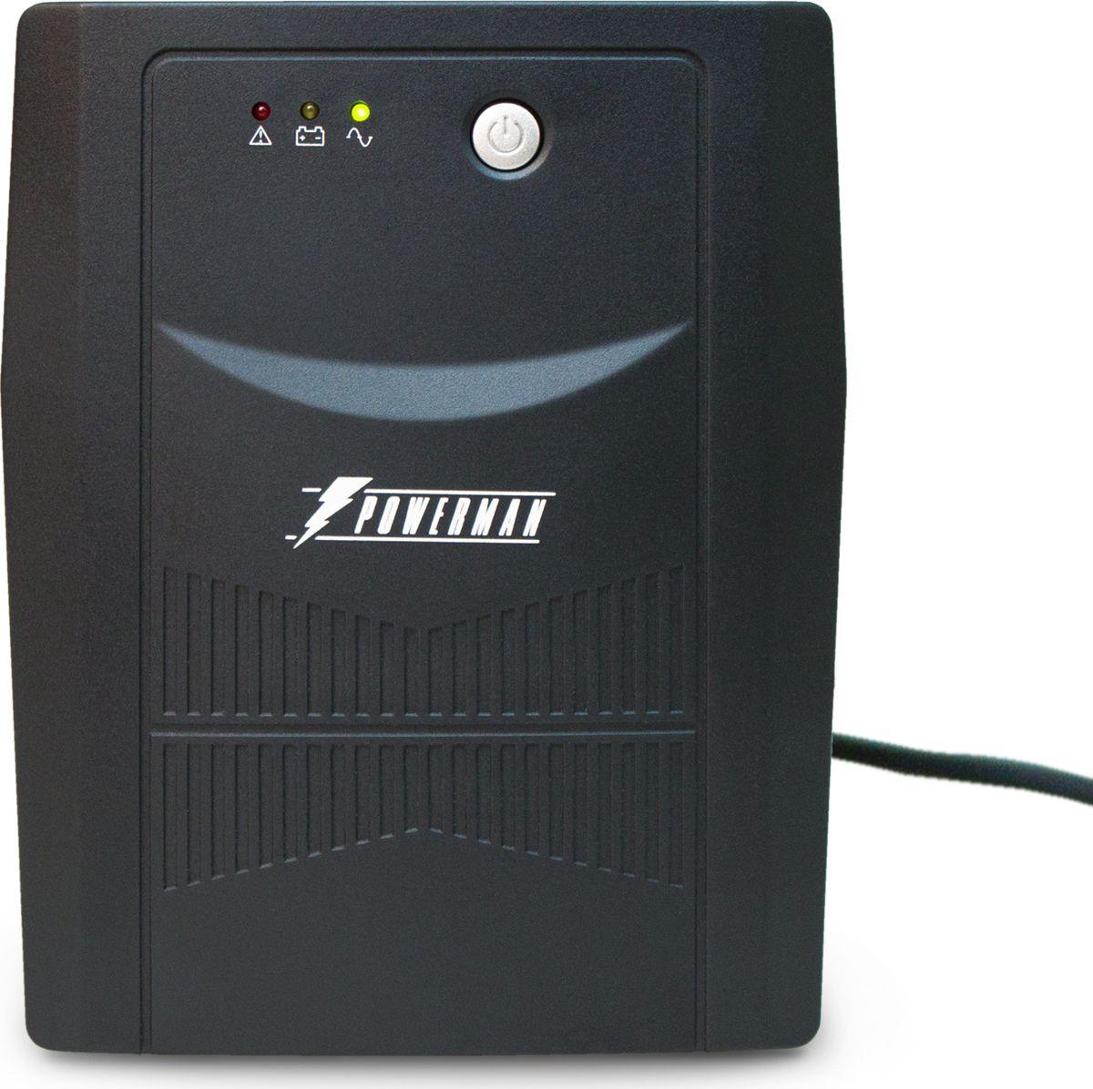 Источник бесперебойного питания Powerman UPS Вack Pro 2000, 2000 ВА источник бесперебойного питания powerman ups вack pro 1000 1000 ва
