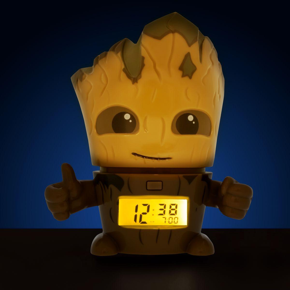 Marvel Guardians of the Galaxy Vol. 2 Будильник BulbBotz Groot