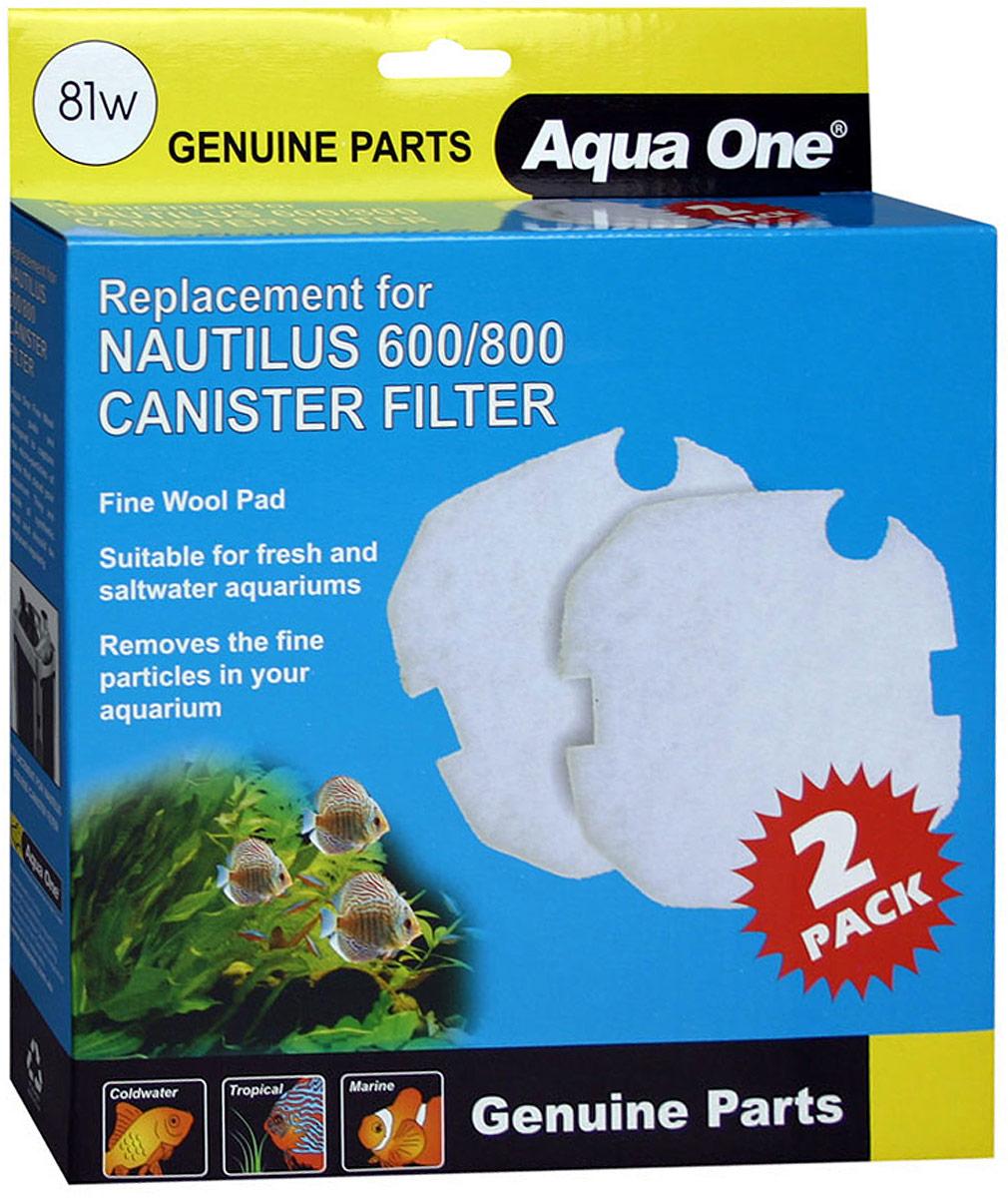 Синтепон Aqua One Nautilus 600/800, для внешних фильтров цена