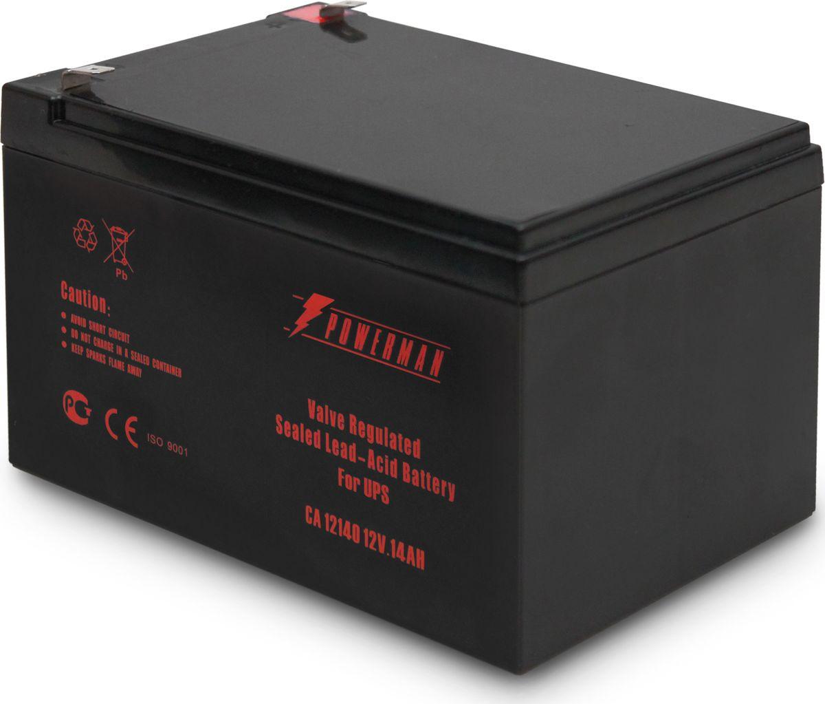 Аккумулятор Powerman CA12140/UPS, 1163191, 14000 мАч