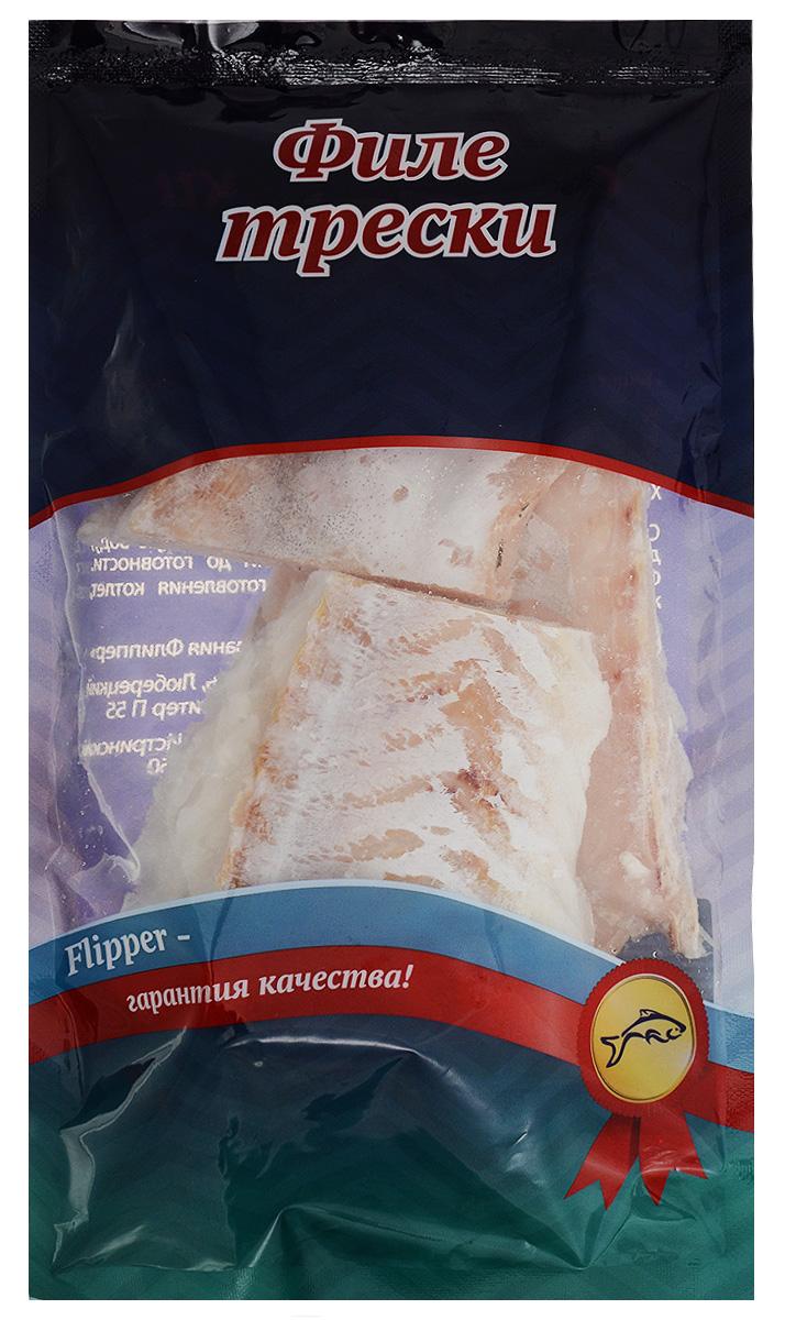 Flipper Треска, филе без кожи, 600 г