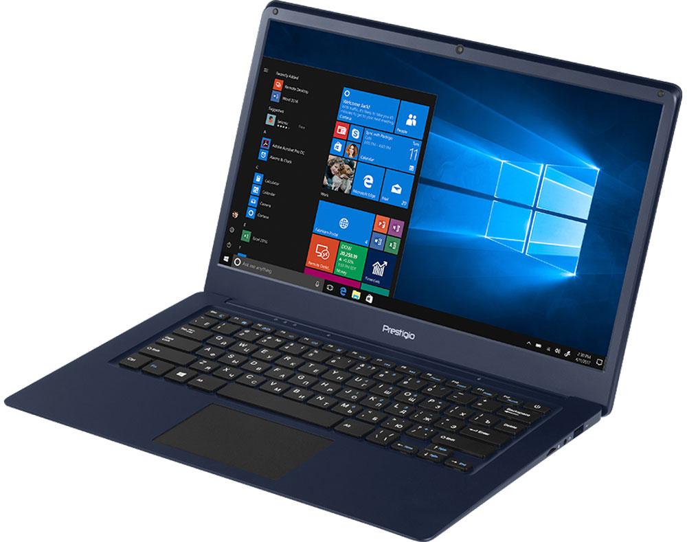 "Ноутбук Prestigio SmartBook 141C, PSB141C01BFH_DB_CIS, 14.1"", темно-синий"