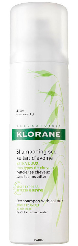 KloraneСухой шампунь с молочком овса, 50 мл Klorane