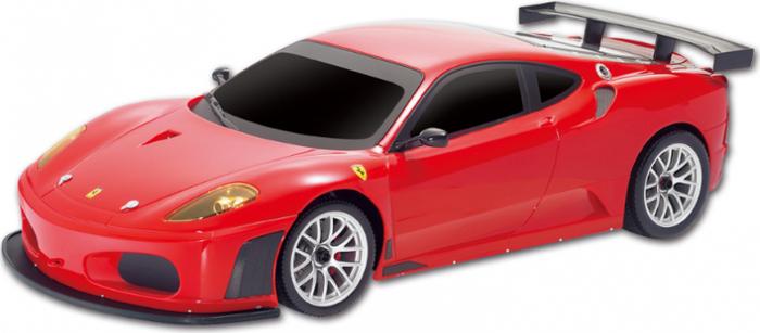 MJX Радиоуправляемая модель Ferrari F 430 GT8108Радиоуправляемая машина Ferrari F 430 GT имеет масштаб 1/20. Полностью повторяет внешний вид настоящего автомобиля. Официальная лицензия от производителя. При движении светятся фары. Комплектация: машина, аккумулятор, зарядное устройство, пульт, батарейки для пульта (тестовые, только для проверки, рекомендуется заменить на новые). Время зарядки 4-6 часов. Время непрерывной игры 25-30 минут.