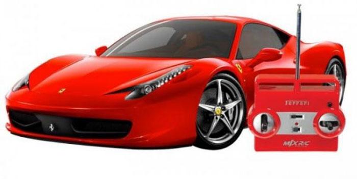 MJX Радиоуправляемая модель Ferrari 458 Italia масштаб 1:20