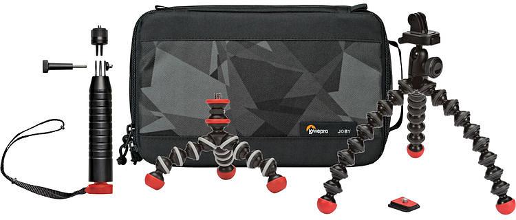 Набор штативов для экшн-камер с чехлом Joby Action Base Kit