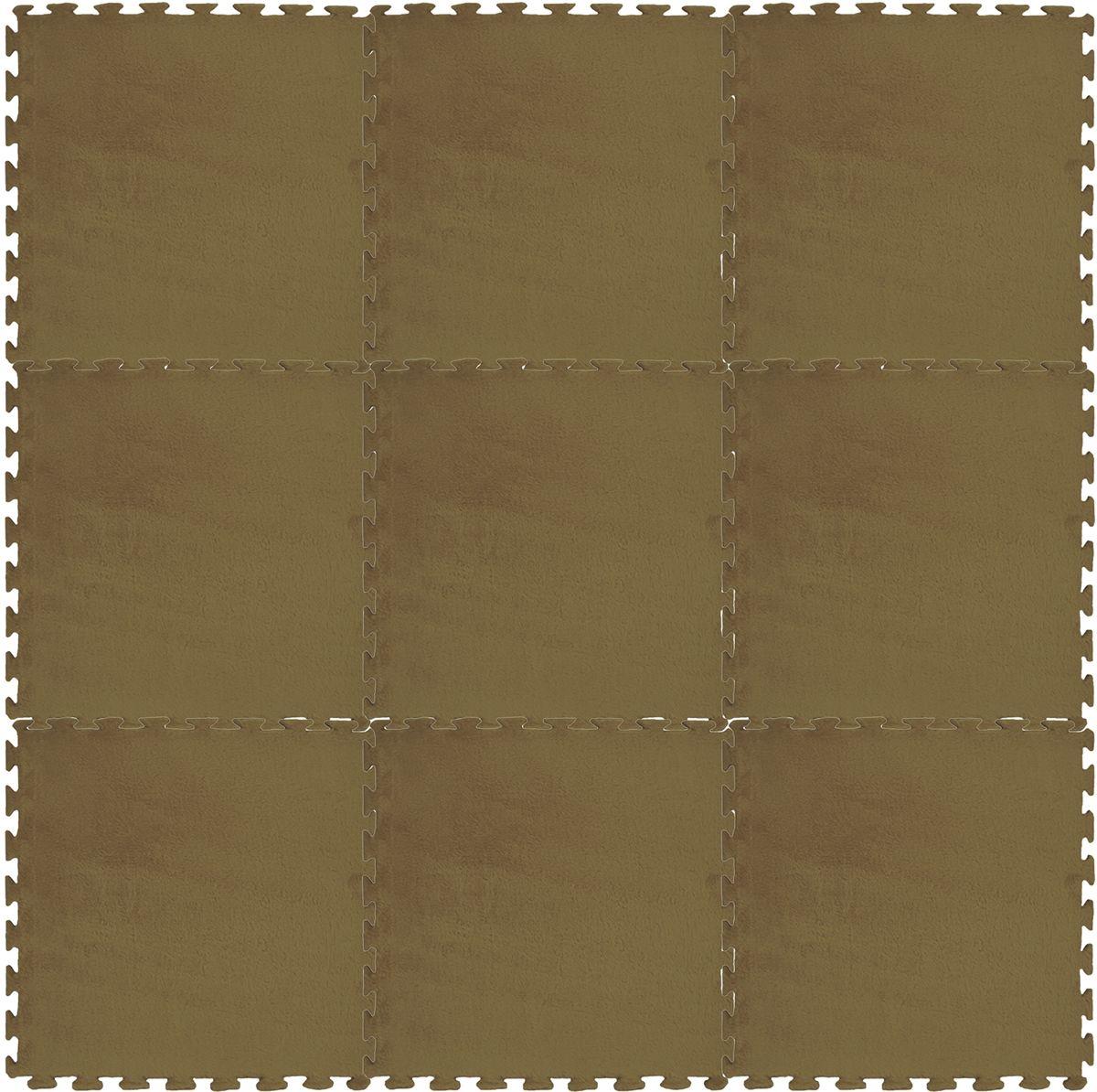 Meitoku Коврик цвет кофейный 9 деталей