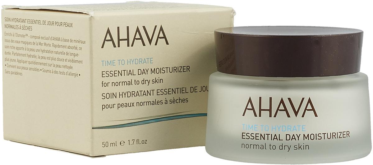 Ahava Time To Hydrate Базовый увлажняющий дневной крем для нормальной и сухой кожи 50мл крем д лица nivea увлажняющий дневной д нормальной кожи 50мл