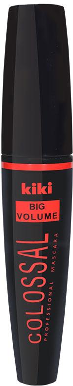 Kiki Тушь для ресниц Big Volume, 6,5 мл105001015Подкручивает вверх кончики ресниц, формирует красивый изгиб, придавая объем и разделение ресниц, создавая эффект густых и объемных ресниц.