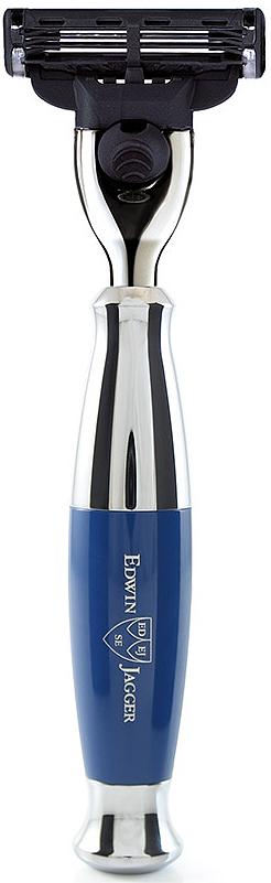 Edwin Jagger Станок Mach 3, цвет: темно-синий. R353CR