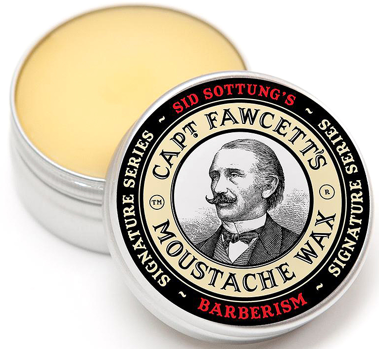 Captain Fawcett Воск для усов Barberism, 15 мл