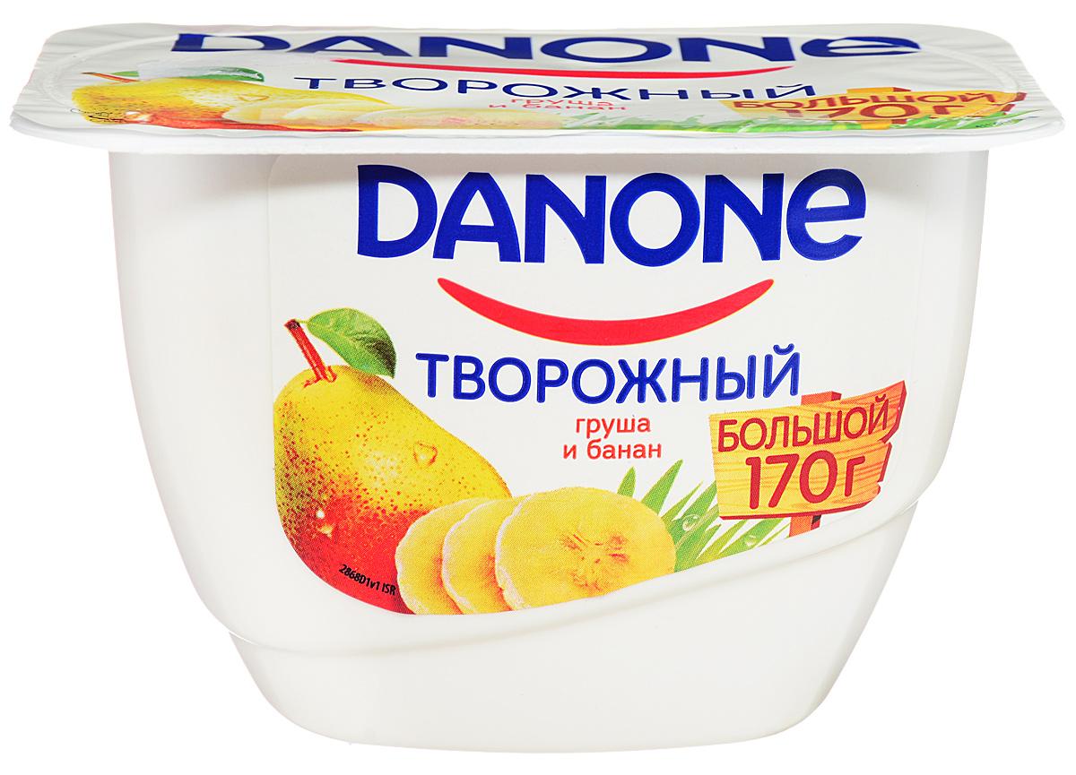 Danone Продукт творожный Груша банан 3,6%, 170 г владимир дэс писарь