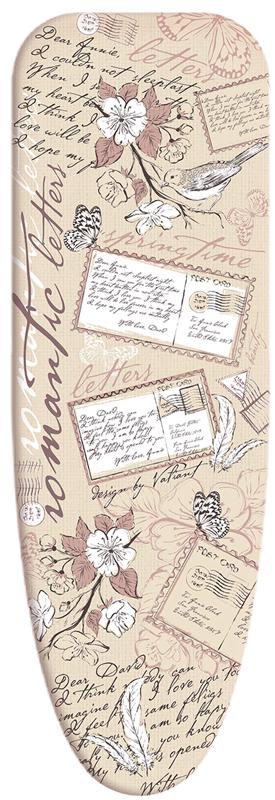 Чехол для гладильной доски Valiant Romantic, 120 х 45 см Уцененный товар (№2)