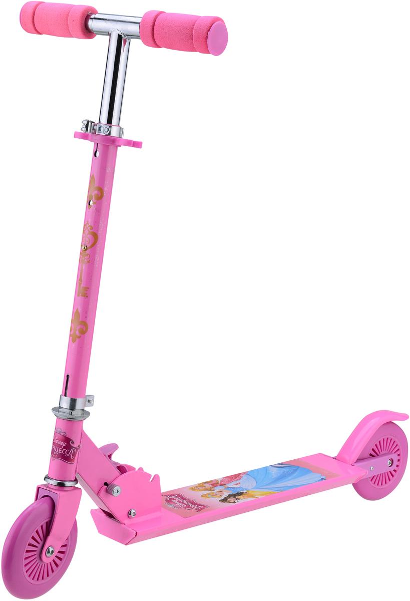 Самокат 1 Toy Disney. Принцесса, 2-колесный. Т58408 самокат 1 toy navigator 2 колесный т59559