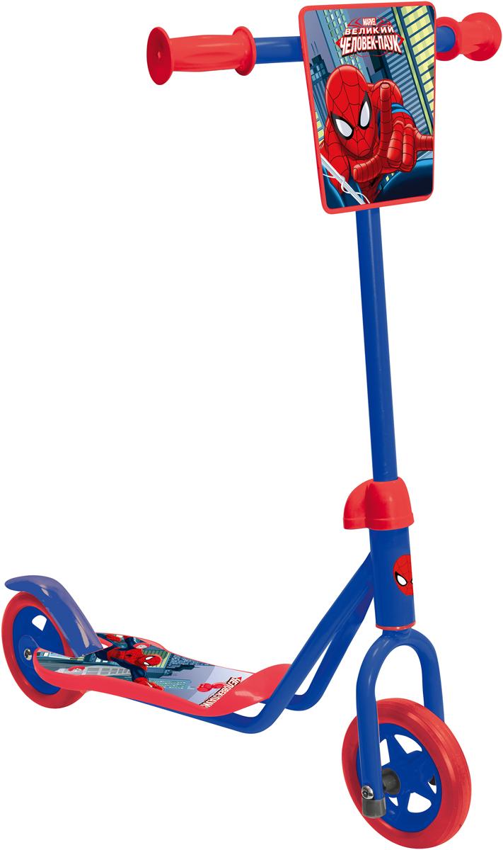 Самокат 1 Toy Marvel Человек-Паук, 2-колесный. Т58414 самокат 1 toy navigator 2 колесный т59559