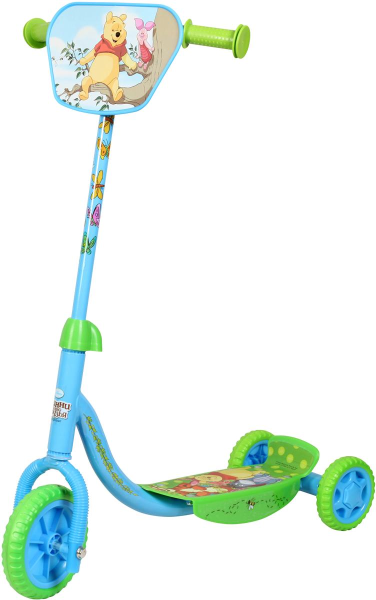 Disney Самокат детский трехколесный Винни-Пух okt kids матрас для пеленания disney винни пух okt kids жёлтый