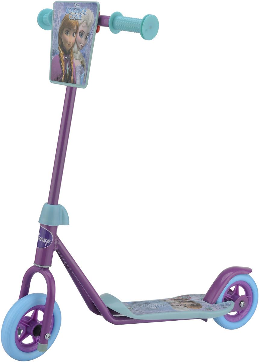 Самокат 1 Toy Disney Холодное сердце, 2-колесный. Т59567 самокат трехколёсный 1toy disney софия 12 10 сиреневый
