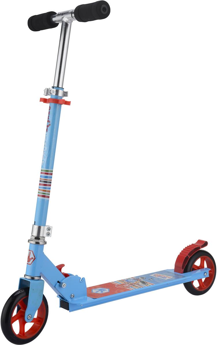 Самокат 1 Toy Фиксики, 2-колесный. Т59580 самокат двухколёсный навигатор фиксики 145 мм синий