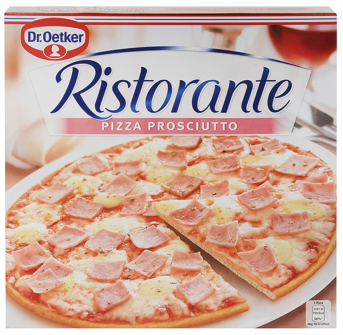 Dr.Oetker Пицца Ristorante Ветчина, 330 г casa nostra пицца с ветчиной и сыром 350 г