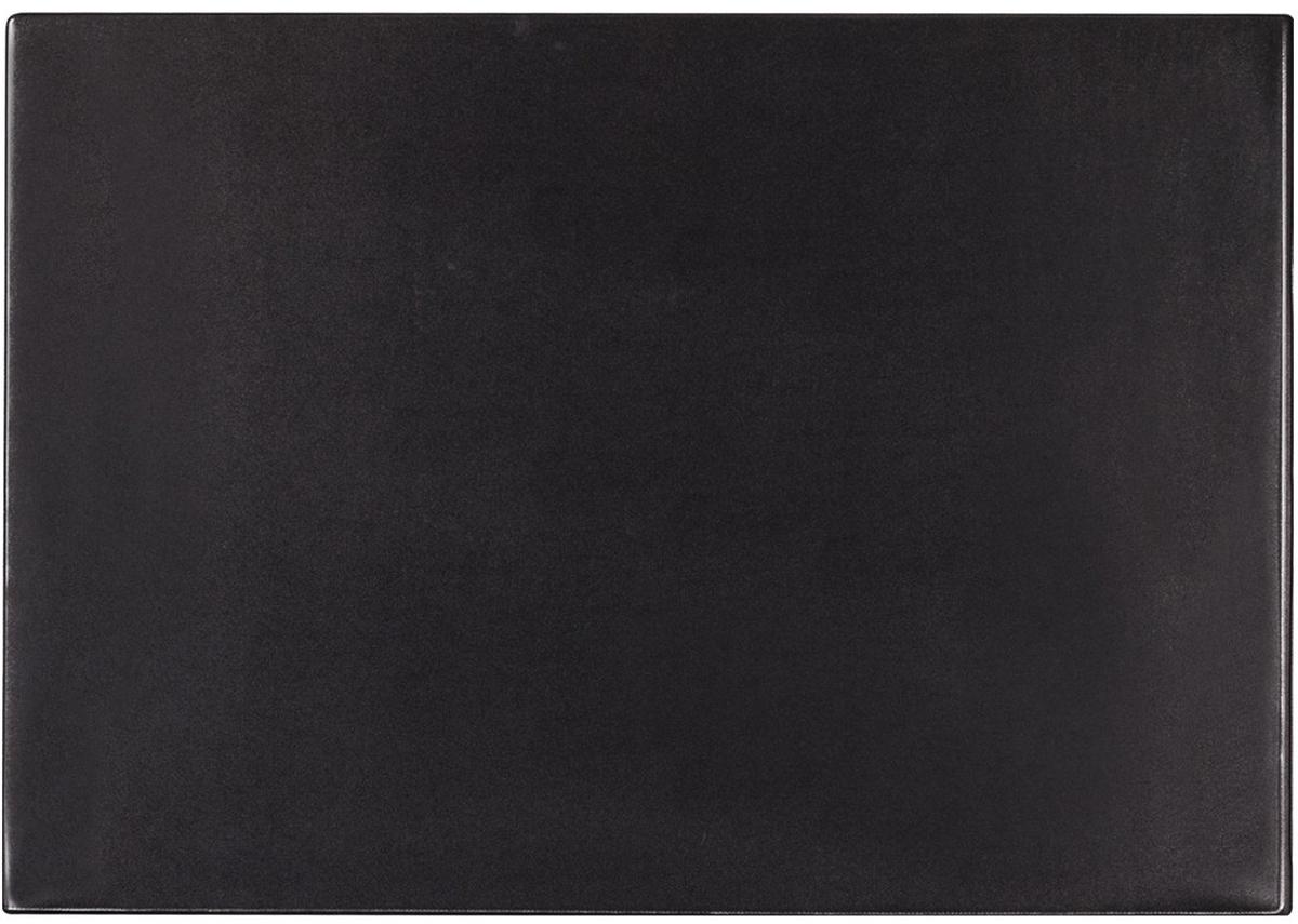 Brauberg Настольное покрытие с прозрачным карманом цвет черный 38 х 59 см. 236774 дпс настольное покрытие с картой россии 38 х 59 см