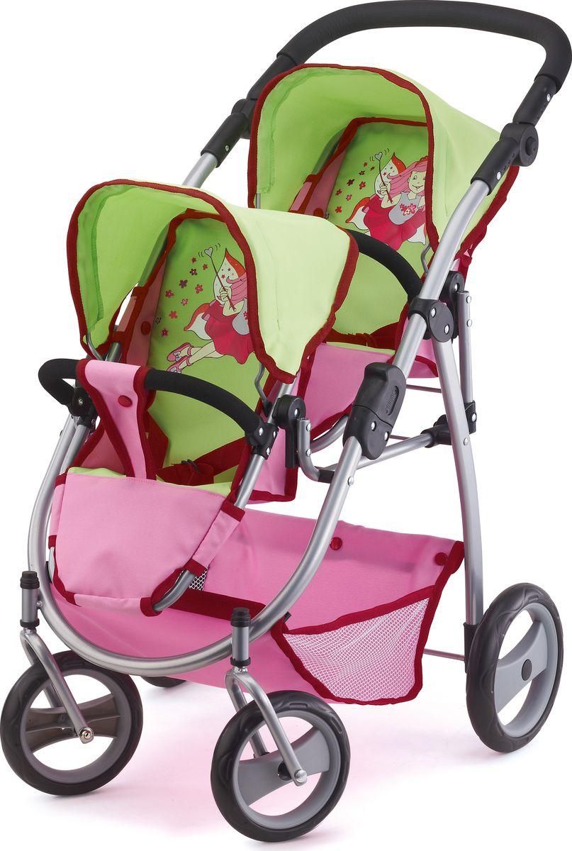 Bayer Транспорт для кукол Коляска для двух игрушек коляска для кукол bayer design тренди цвет серый розовый