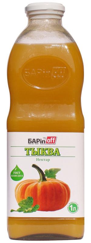 Barinoff Нектар Тыква с мякотью, 1 л
