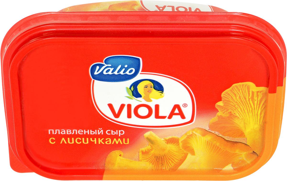 Valio Viola Сыр с лисичками, плавленый, 200 г valio viola сыр с лисичками плавленый 400 г