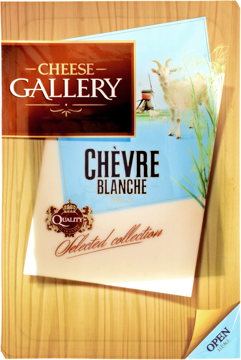 Cheese Gallery Сыр Козий, 50%, нарезка, 100 г
