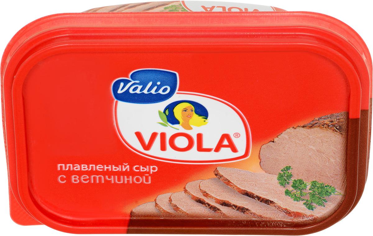 Valio Viola Сыр с ветчиной, плавленый, 200 г valio viola сыр с лисичками плавленый 400 г