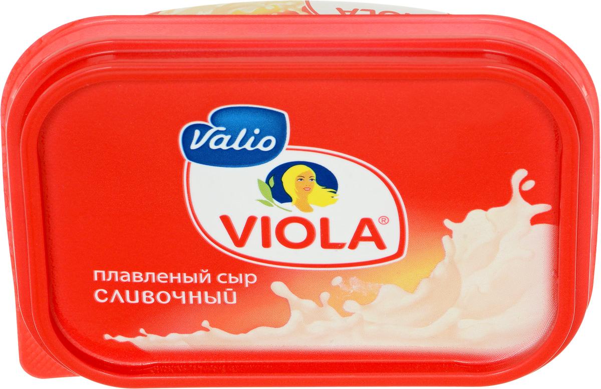 Valio Viola Сыр плавленый Сливочный, 200 г valio viola сыр с лисичками плавленый 400 г