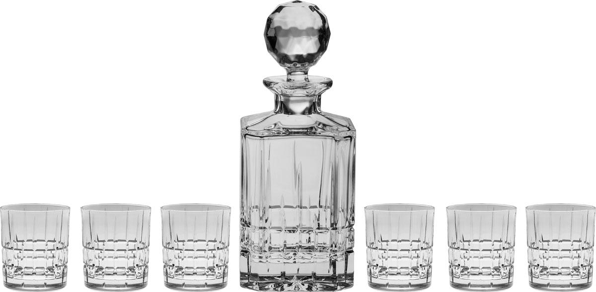 """<b>Набор для виски</b> Crystal Bohemia """"Dover"""", <b>7</b> предметов — купить в ..."""