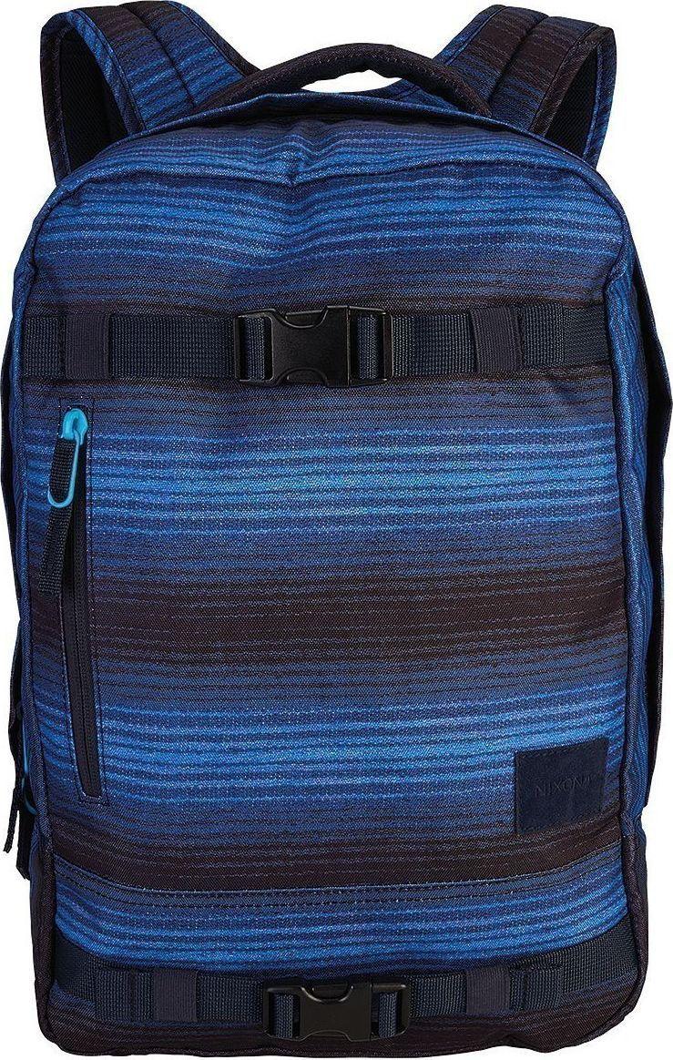 Рюкзак Nixon Del Mar, цвет: черный, синий, 18 л. C2463-1648-00 цена