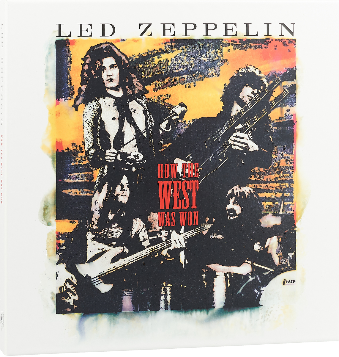 Led Zeppelin Led Zeppelin. How The West Was Won (4 LP)