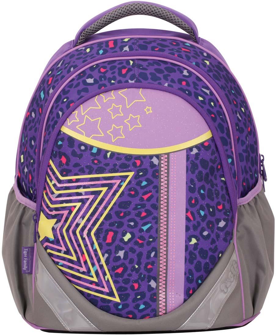 e35670b599e5 Tiger Family Рюкзак Глэм цвет фиолетовый серый разноцветный. 226112 — купить  в интернет-магазине OZON.ru с быстрой доставкой