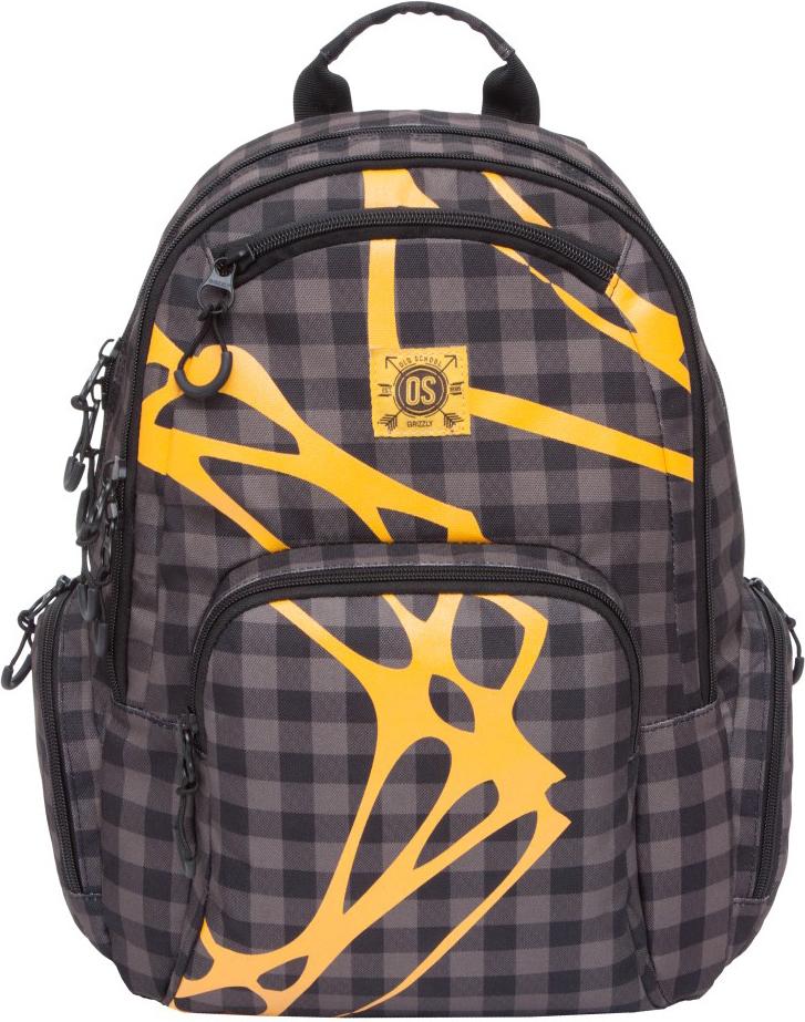 Рюкзак городской Grizzly, цвет: коричневый. RU-800-1/2 рюкзак городской grizzly цвет салатовый коричневый 23 л ru 619 2 2