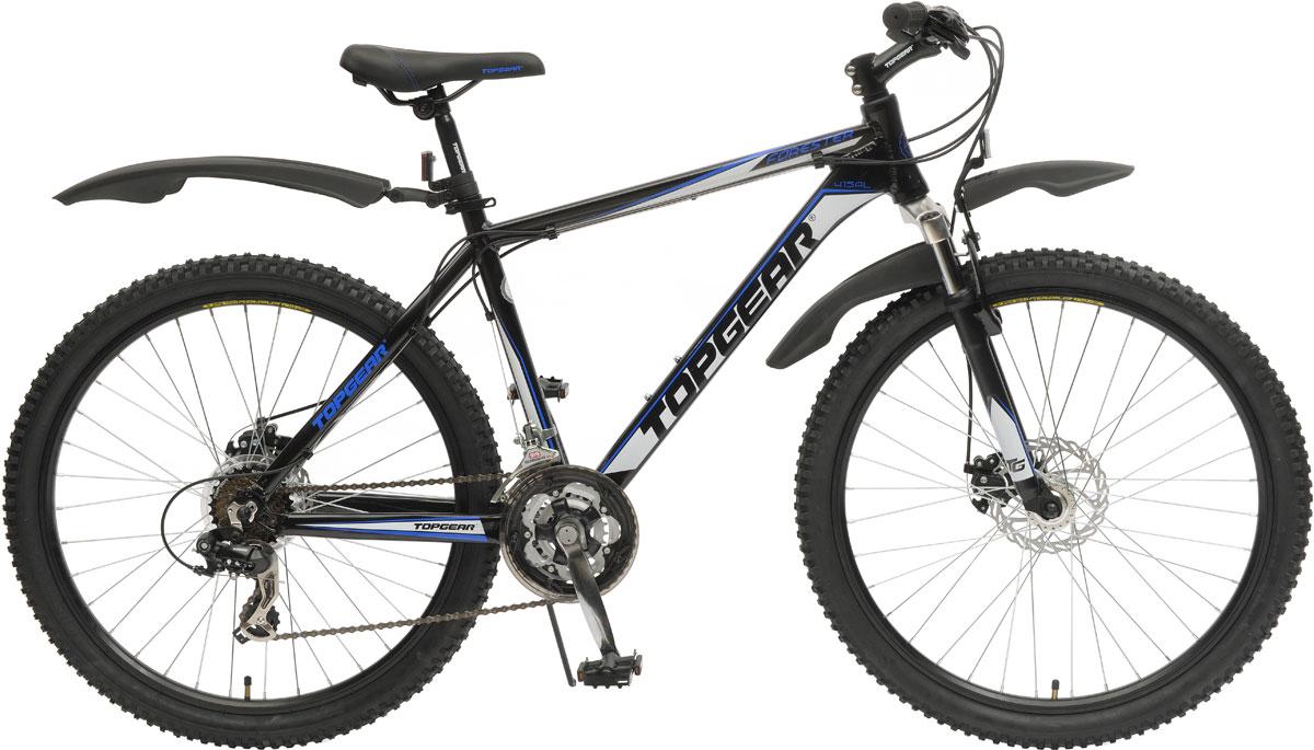 Велосипед детский TopGear FoRester, цвет: черный. ВН26392 цена