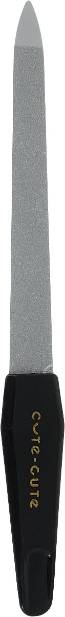цена Cute-Cute Пилка алмазная, цвет: черный, длина 12,5 см онлайн в 2017 году