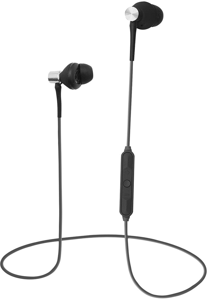 Беспроводные наушники Qumo Freedom Style Mini BT-0011, темно-серый