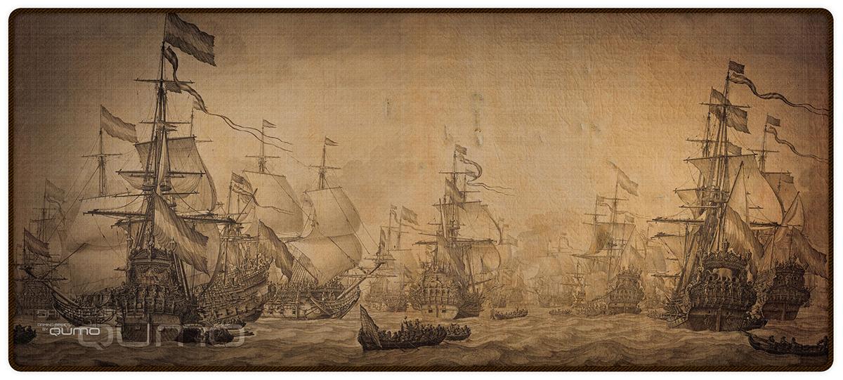 Игровая поверхность Qumo Grand Fleet игровой коврик qumo grand fleet [22485]