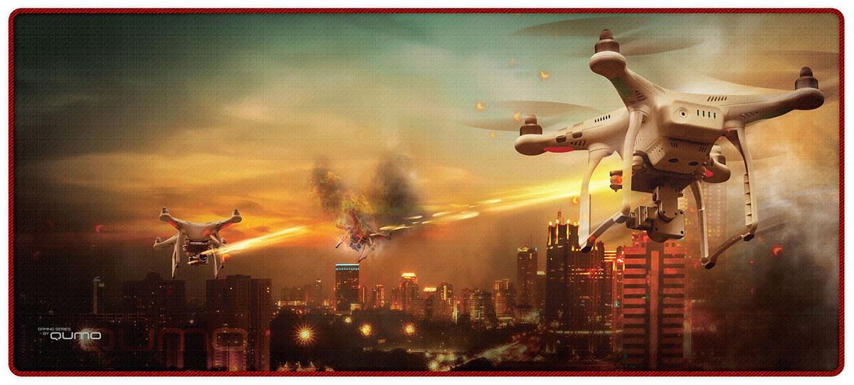 Игровая поверхность Qumo Droid's War цена и фото