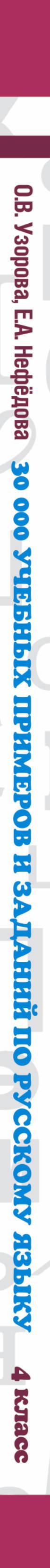 Русский язык. 4 класс. 30000 учебныx примеров и заданий на все правила и орфограммы